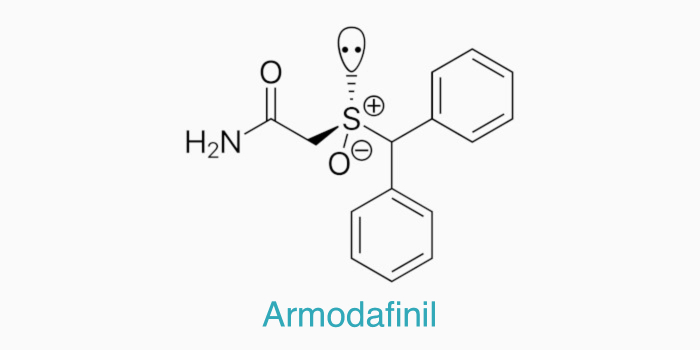 The chemical structure of armodafinil